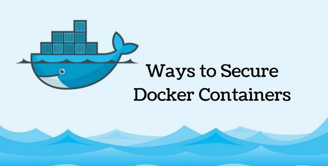 secure docker