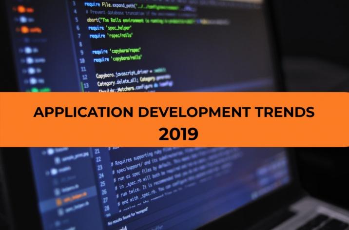 Application development trends 2019