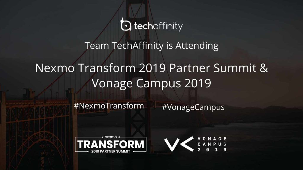 Nexmo Transform Partner Summit - TechAffinity