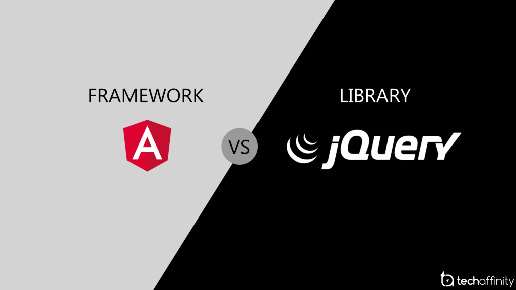 Framework Vs Library   AngularJS Vs jQuery - All you Need to Know