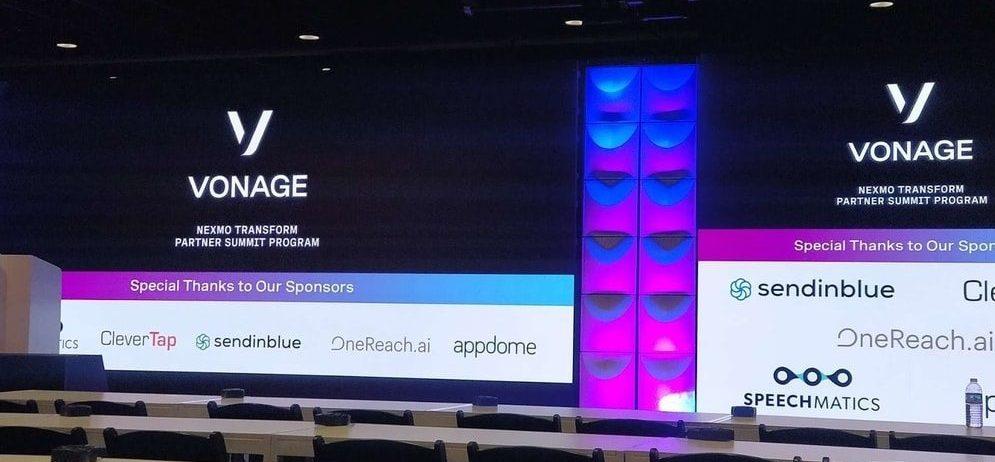 Team TechAffinity at Nexmo Transform Partner Summit   TechAffinity
